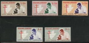Burundi Scott B9-13 Anti TB set 1965 MH*