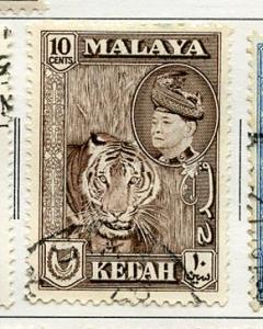 Malaya Kedah USED H Scott Cat. # 88