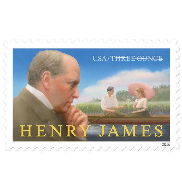 2016 89c Henry James, Literary Arts, Novel The Ambassadors Scott 5105 Mint VF NH