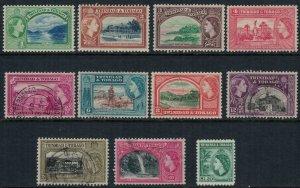 Trinidad & Tobago #72-82*/u  CV $5.20