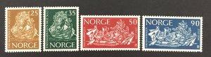 Norway 1963  #433-6, FAO, MNH.