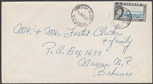 BAHAMAS 1963 local cover HARBOUR ISLAND cds.................................A792