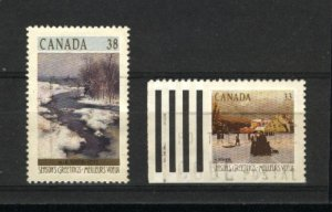 Can #1256,1259   -2   used VF 1989 PD
