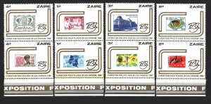 Kinshasa. 1980. 673-80. Stamps on stamps. MNH.