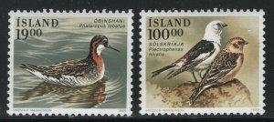 Iceland 1989 Birds set Sc# 671-72 NH