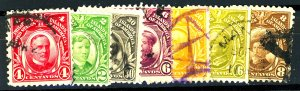 PHILIPPINES #SET FROM 1917 USED MIXED CONDITION