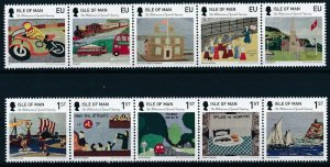 [I1003] Isle Of Man 2015 Painting good set of stamps very fine MNH