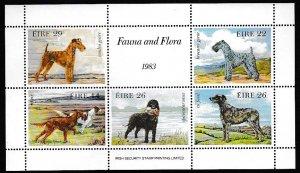 Ireland 1983 Scott 567a Drawings of Dogs MNH