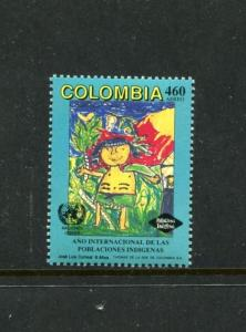 Colombia C859, MNH, Intl. Year of Indigenous People 1993. x23569
