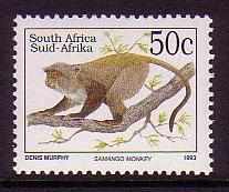 South Africa Samango Monkey issue 1997 SG#810c