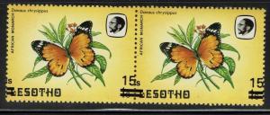 Lesotho - SG# 724 - Pair - Overprint ERROR - Mint Never Hinged - Lot 061216