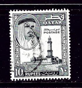 Qatar 36 Used 1961 issue