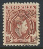 Nigeria  SG 51a    Used  Perf 11½   1950 Definitive please see scan
