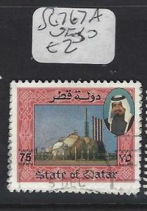 QATAR  (P0304BB)  SHEIKH  SG 767A    75 DH   VFU