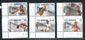 Barbuda 1567-72 1996 Olympics set MNH