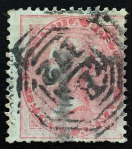Malaya-Singapore India Used Abroad 1856 8a B-172 cancelled SG#Z78 M1997