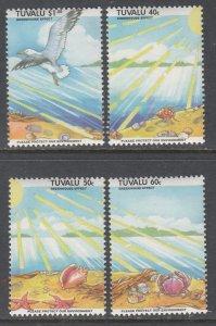 Tuvalu 649-652 MNH VF