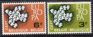 Belgium 572-573 Europa MNH VF