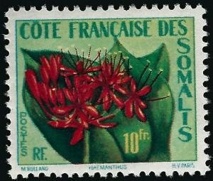 Somali Coast Sc #270 VF Mint OG hr... French Colonies are Hot!