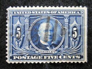 US - SCOTT#326 - USED - CAT VAL $22.50 (1)