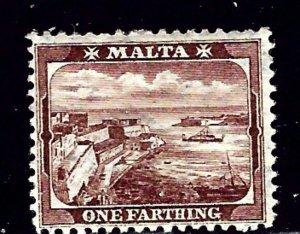 Malta 28 MH 1905 issue    (ap1626)