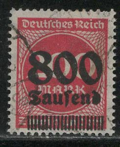Germany Reich Scott # 263, used, exp h/s