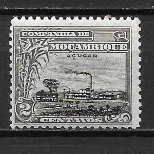 Mozambique Company 114 2c Sugar Refinery single MH