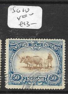MALAYA KEDAH (P1105B) COW  50C    SG 10    VFU