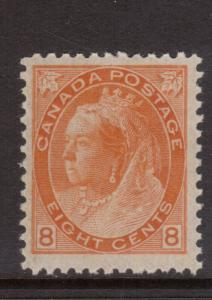 Canada #82 VF/NH **With Certificate**