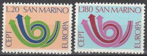 San Marino #802-3  MNH (S2792)
