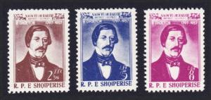 Albania 160th Birth Anniversary of Veqilharxhi patriot 3v SG#607-609