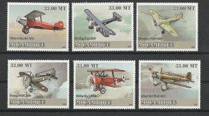 Mozambique MNH Planes World War II Aircraft 2009