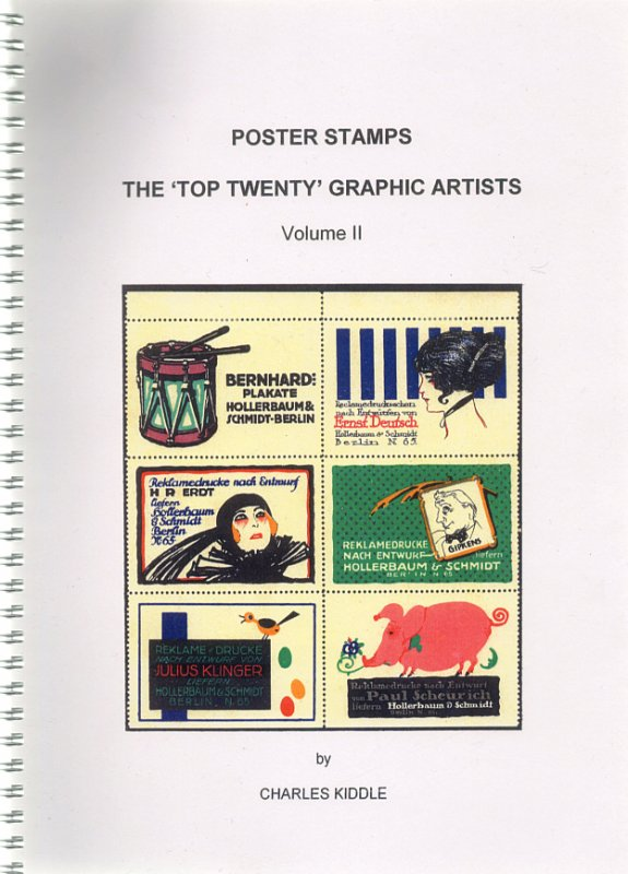 (I.B-CK) Cinderella Catalogue : Poster Stamps : Top 20 Graphic Artists (v