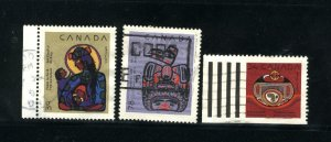 Can #1294, 1296-1297   -2   used VF 1990 PD