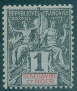 Senegambia & Niger #1  Mint  Scott $2.40