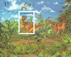 New Zealand   SS   diinosaurs   Mint VF NH  PD
