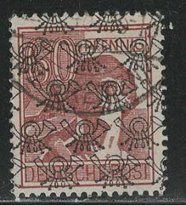 Germany AM Post Scott # 631a, used