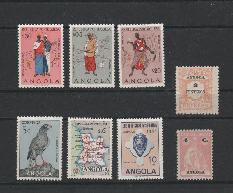 ANGOLA STAMPS SHOW DEALER CLOSEOUT LOT 394 0118