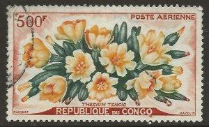 Congo  (1961)  - Scott # C4,  Used