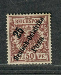 German East Africa Sc#10 M/H/VF, Cv. $32.50