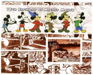 Somalia 2004 DISNEY MICKEY MOUSE s/s Perforated Mint (NH)