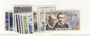 Monaco, 605-15,C66, Telecommunications Singles, MNH