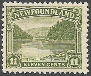 Newfoundland Scott Number 140 FVF H