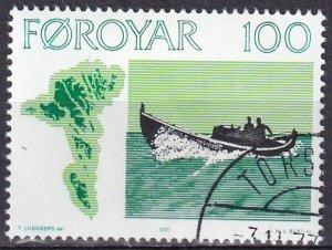 Faroe Islands #24 F-VF Used CV $3.75