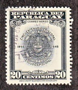Paraguay Scott #C168 Used
