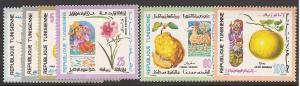 Tunisia 561-566 Mint VF NH
