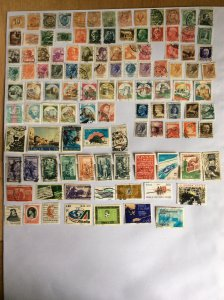 Italy 100+ stamps - Lot B