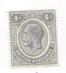 British Honduras #96  4c George V (M)  CV $22.50