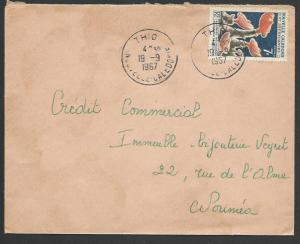 NEW CALEDONIA 1967 local cover THIO cds....................................12005