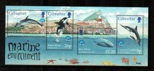 Gibraltar #764  MNH  Scott $7.25   Sheet of 4